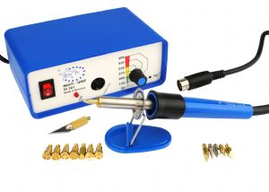 Startec Multi Heat Pyrography Woodburning Kit with 14 Tips. M0054